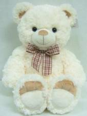 Baby First Plush 'n Soft Roland Bear - White