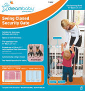Dream Baby Swing Closed Security Gate