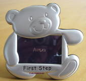 Babys First Step Photo Frame