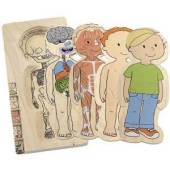 Logical Toys Five Layer Boy Puzzle