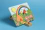 Buzzy Bee Wooden Puzzle - Grass + Rainbow