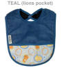 Silly Billyz Comfy Fleece Pocket Bib